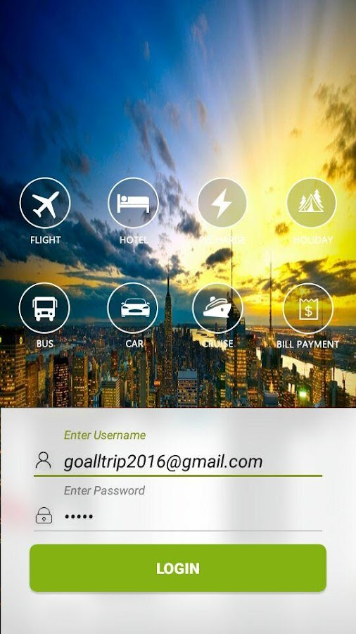 Goalltrip.com- screenshot
