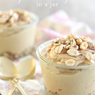 Peanut Butter Pie in a Jar
