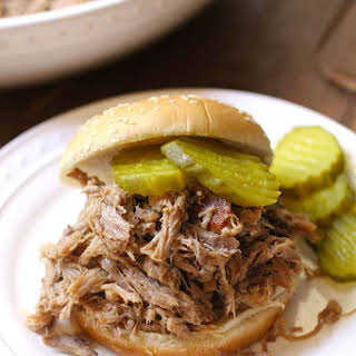 Slow Baked Pulled Pork.
