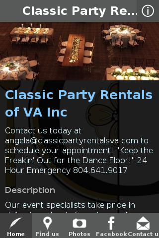 Classic Party Rentals of VA