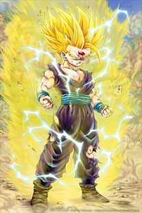 Super Saiyan Wallpaper Live - náhled