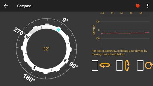 Android Sensors screenshot 4