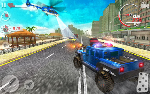 Police Highway Chase in City - Crime Racing Games 1.3.1 screenshots 3