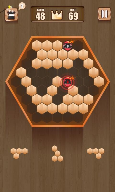 Wooden 100 Block Puzzle APK 2.0.1 screenshots 3