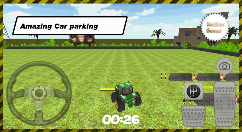 3D-Tractor-Car-Parking 30