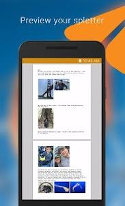 Spletter - send mail & photos screenshot 1