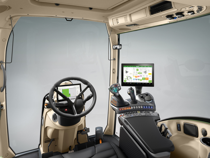 An example of this kind of driver cab from a machine used in the heavy industry