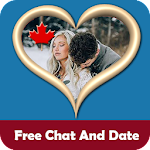 Canadian Chat - Free Dating Canada Icon