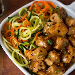 Pressure Cooker Orange Chicken.