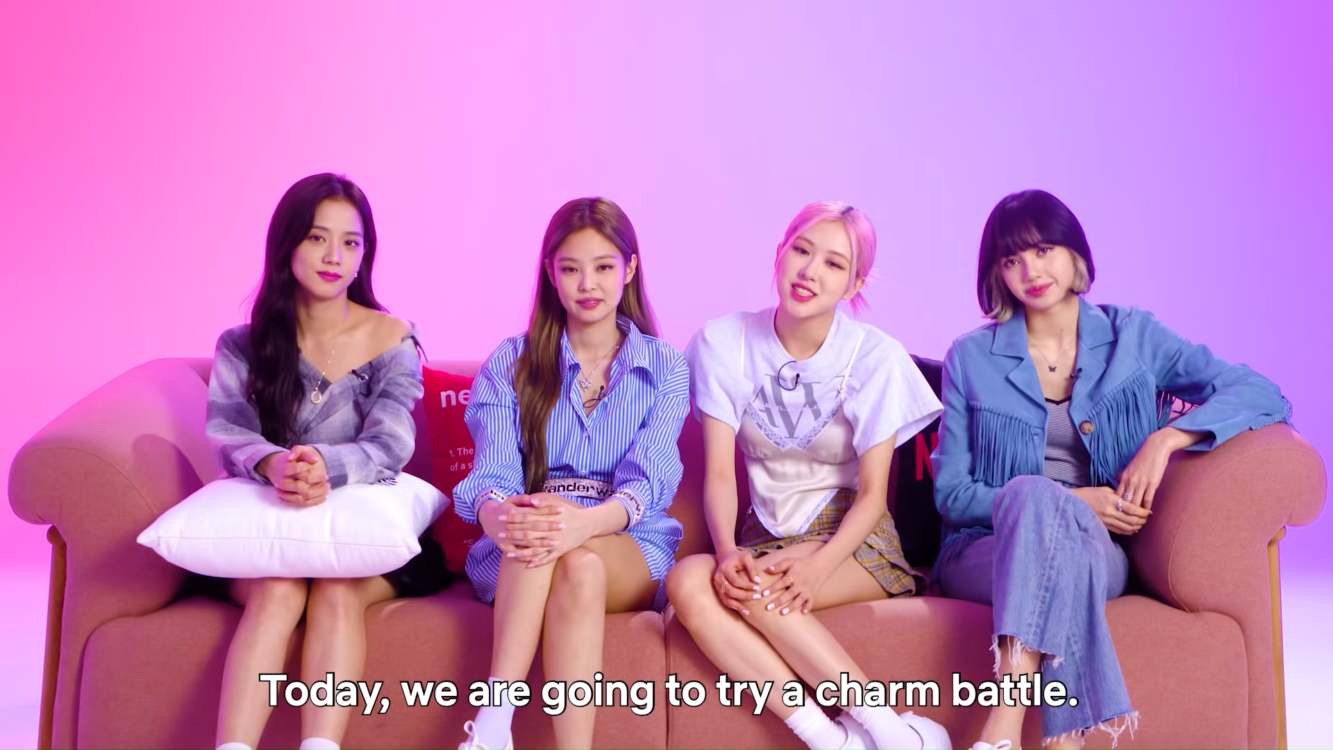 Who Is the Most Charming BLACKPINK Member_ _ Charm Battle _ Netflix 0-12 screenshot