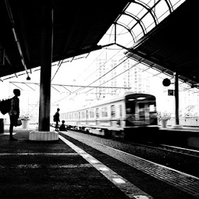 The Last Train by Basuki Mangkusudharma - Transportation Trains ( train )