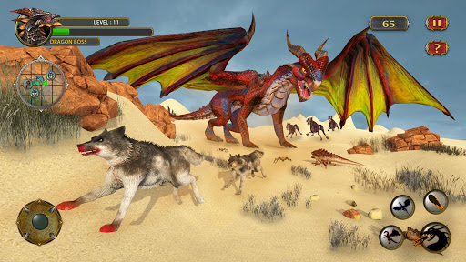 Dragon Simulator Attack 3D Game 2.2 screenshots 15