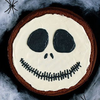 Spooky Chocolate Pie for Halloween