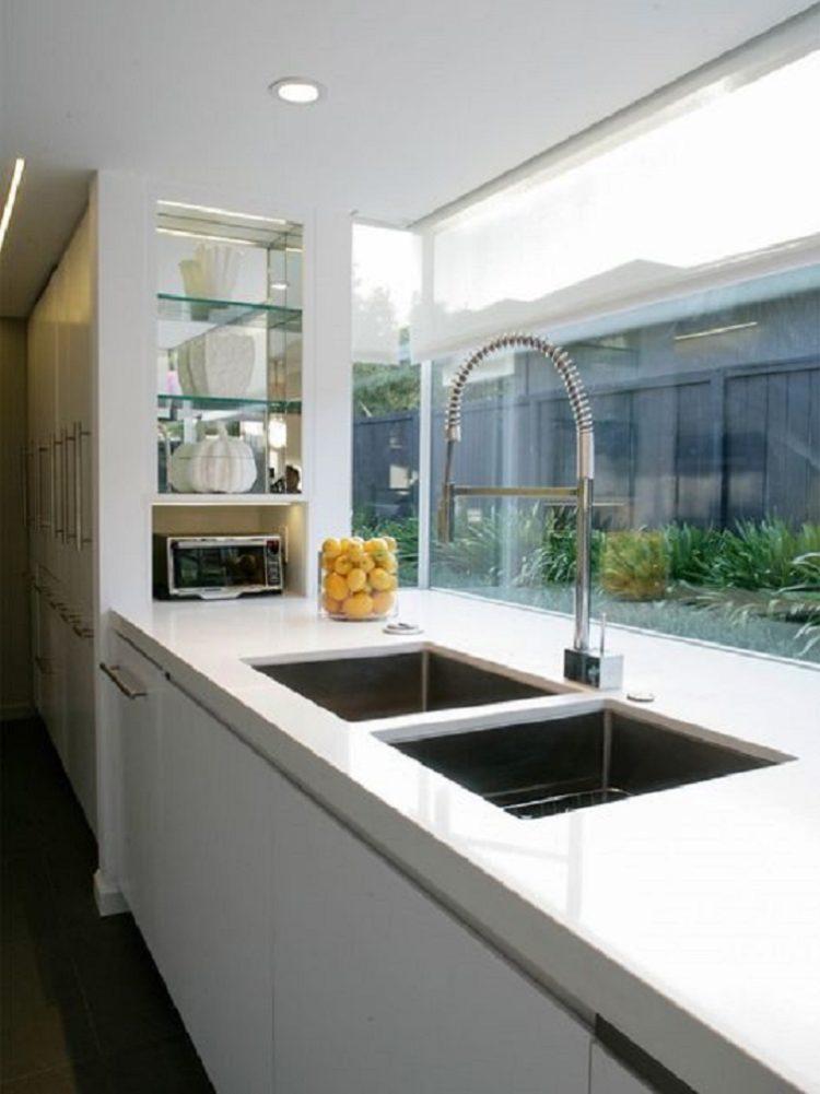 Jendela Sudut Minimalis untuk Dapur