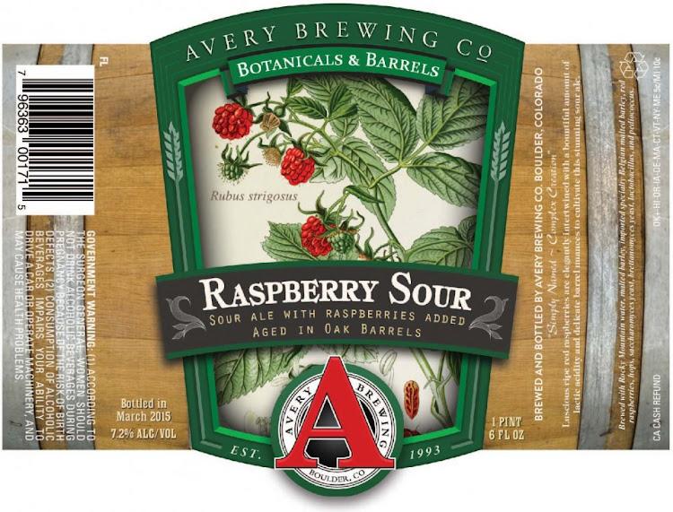 Logo of Avery Raspberry Sour