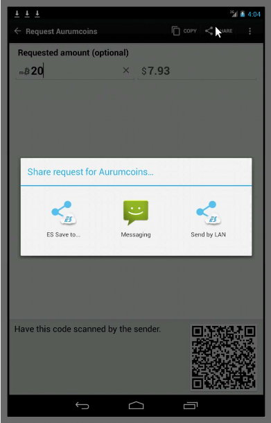 Aurumcoin Wallet- screenshot