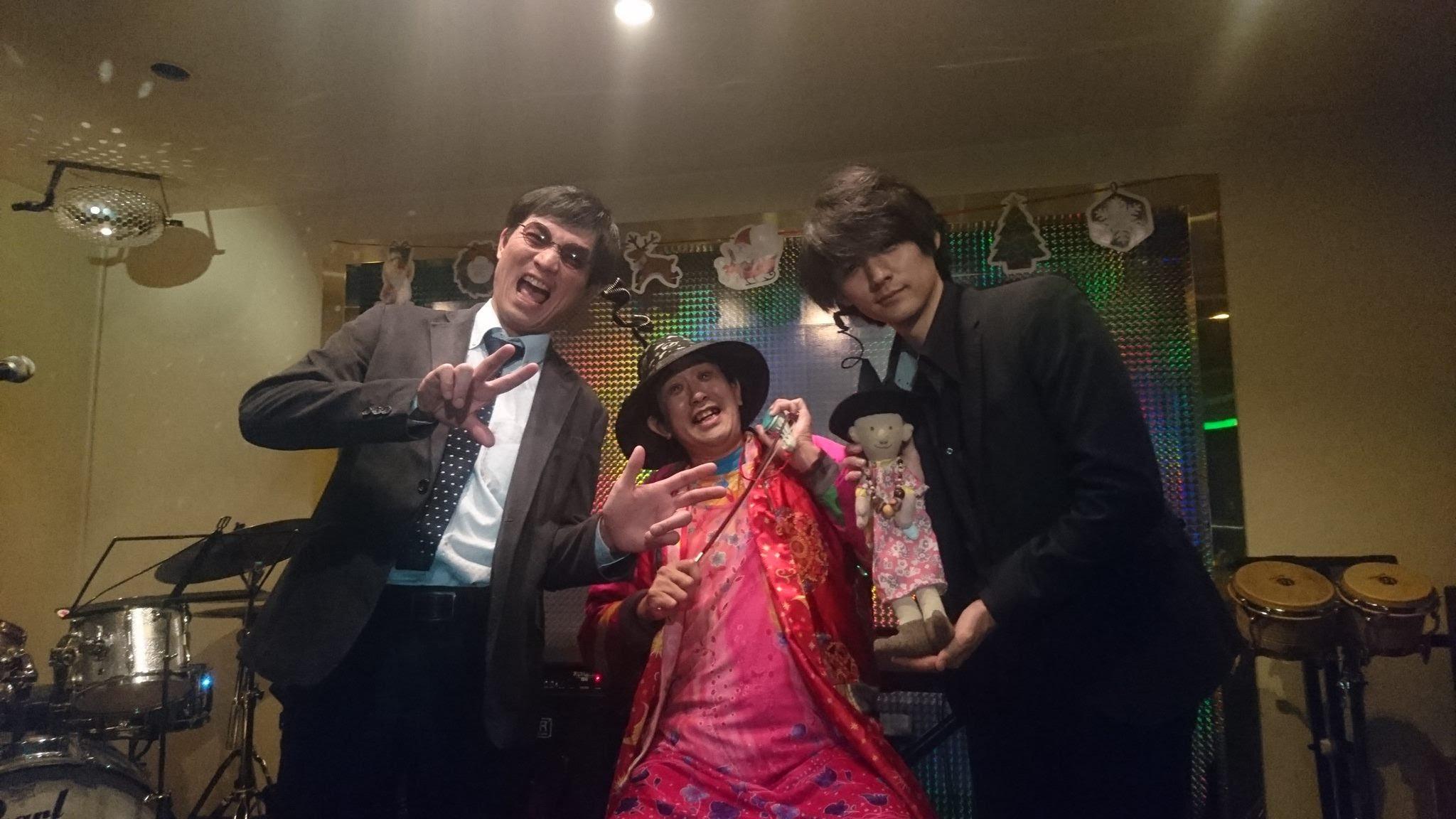 12/07。「ひんでんさん人形」の似顔絵も。道太郎さん桜井さん渡邉真希さん進藤洋樹さんとかとかと。