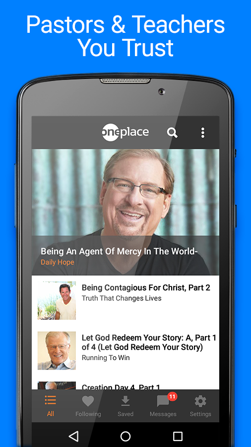 OnePlace Christian Teaching- screenshot