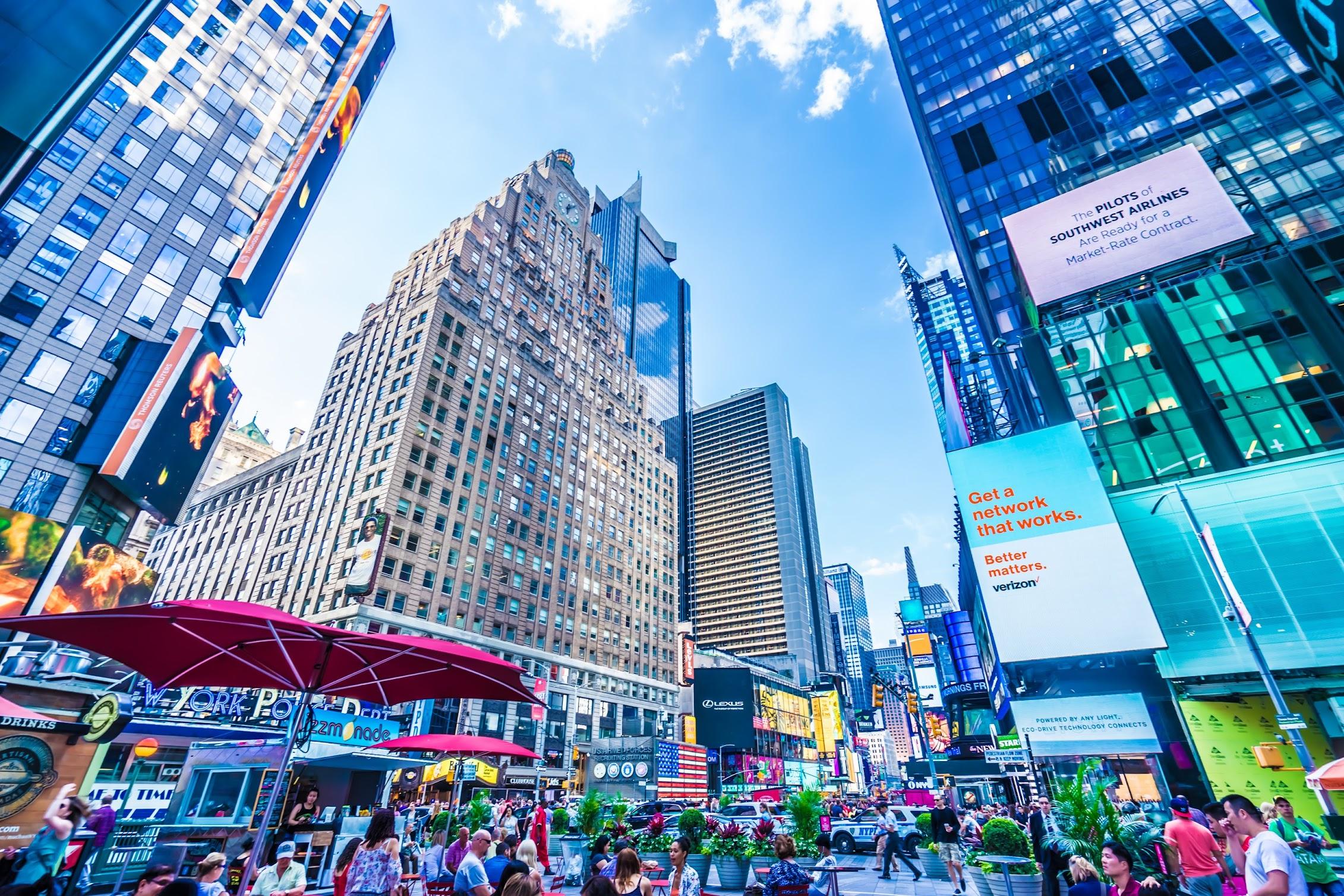 ニューヨーク タイムズスクエア1