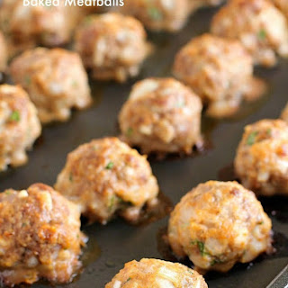 Best Ever (Easy) Baked Meatballs.