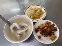 琴姐土魠魚粥香菇肉燥飯