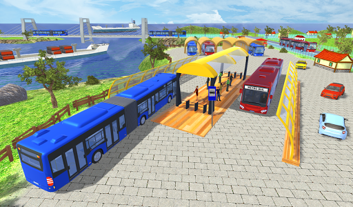 Offroad Metro Bus Game: Bus Simulator androidhappy screenshots 1
