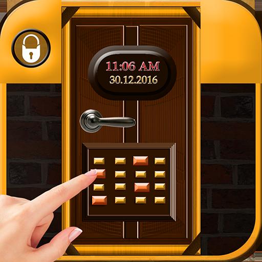 Gold Door Lock Prank