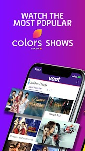 Voot – Watch Colors, MTV Shows, Live News & more App Download For Android and iPhone 1