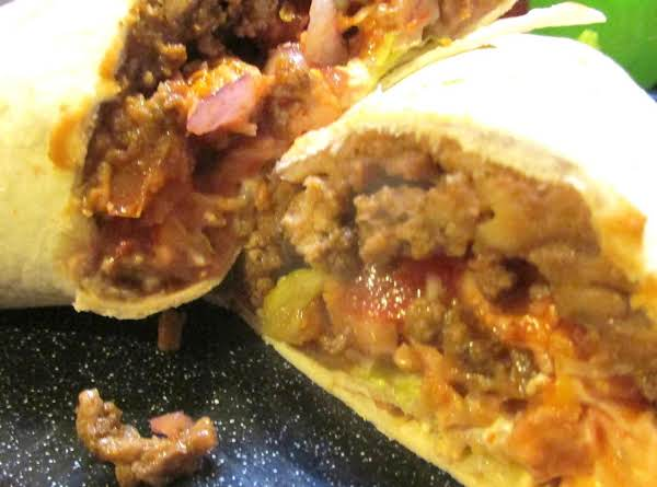 Beef & Turkey Burritos Recipe
