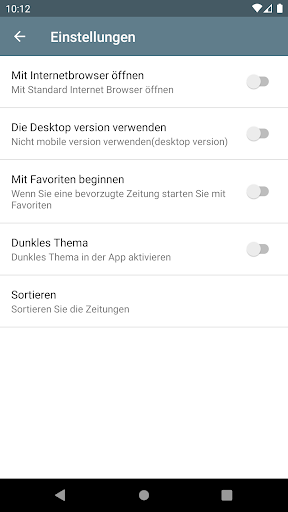 Deutsche Zeitungen  screenshots 8