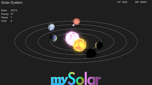 mySolar - Build your Planets  trampa 1