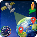 Live Earth View Map - Global Satellite, Speed Cams
