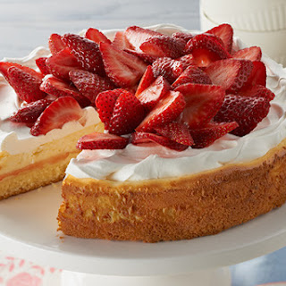 Strawberry Shortcake Cheesecake.