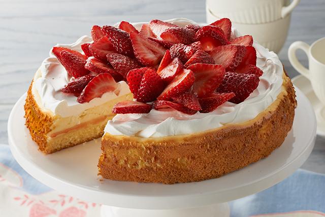 Strawberry Shortcake Cheesecake Recipe