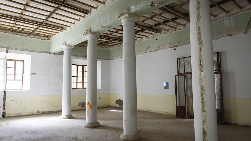 Estancia del Hospital Provincial, que acogerá el futuro museo.