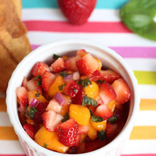 Strawberry Mango Salsa.