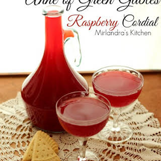 Anne of Green Gables Raspberry Cordial.