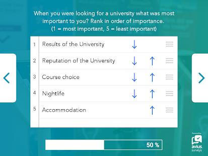 Avius Surveys - náhled