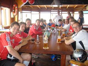Photo: Even pauzeren en tijd voor een biertje