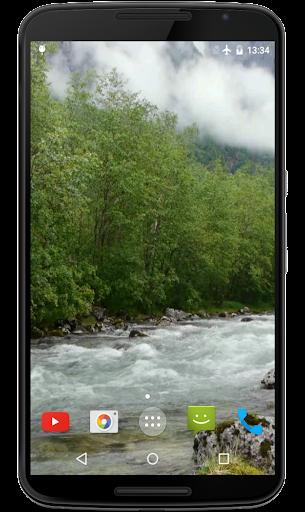 川の4Kビデオライブ壁紙