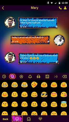 mod Doodle Style Typany Keyboard 4.5 screenshots 3