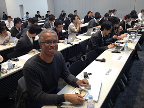 Photo: Chris Richardson in Tokyo, before Cloud Foundry Bootcamp