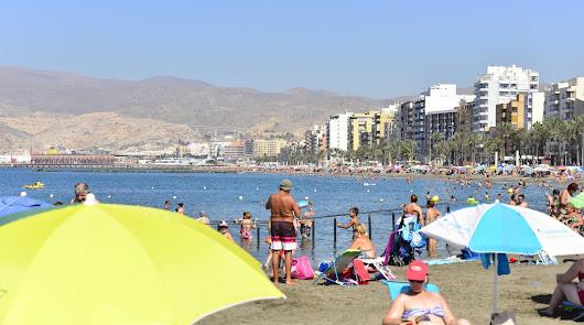 Aviso amarillo en Almería, que se acerca a los 40 grados