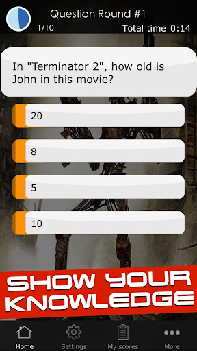 Quiz for the Terminator Movies 1 screenshots 8