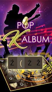 Pop K Album Theme&Emoji Keyboard - náhled