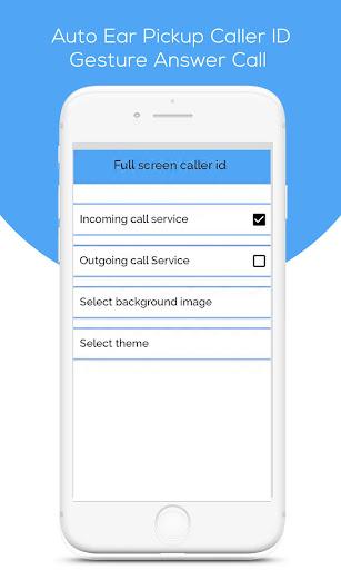 Auto Ear Pickup Caller ID - Gesture Answer Call app (apk