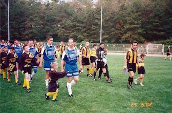 Photo: 25-5-2002 τελευταία αγωνιστική πρωταθλήματος Α' Κατηγορίας, Εθνικός Βατερού - ΑΕΚ 2-5 (το παιχνίδι έγινε στο Στρατιωτικό Γήπεδο)