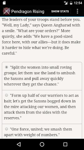 android Pendragon Rising Screenshot 4