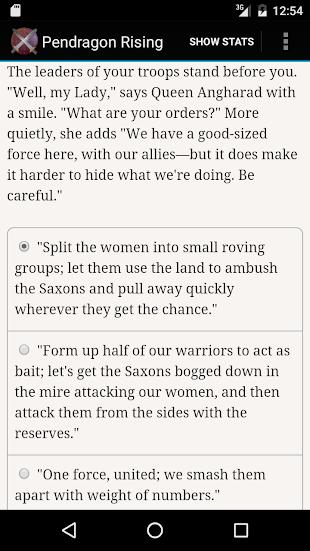 Pendragon Rising- screenshot thumbnail