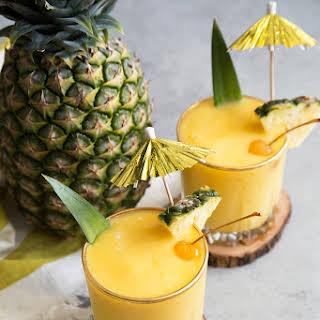 Mango Pineapple Sangria Slush.